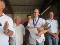 Louis BOUDERLIQUE : Champion d�Europe en Planeur 2013
